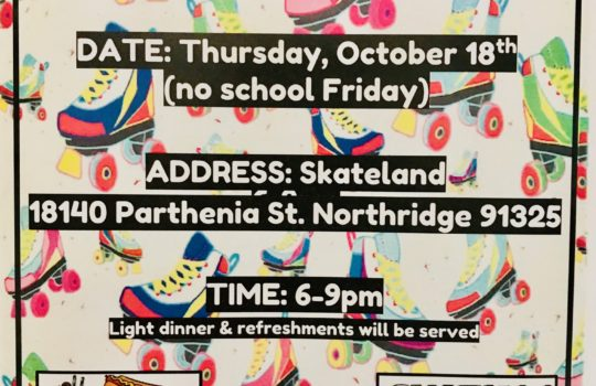 High School Skateland Event – Both Campuses!