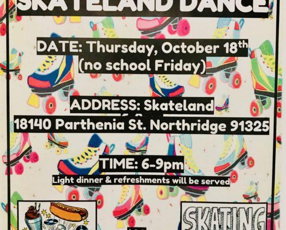 High School Skateland Event – Both Campuses!