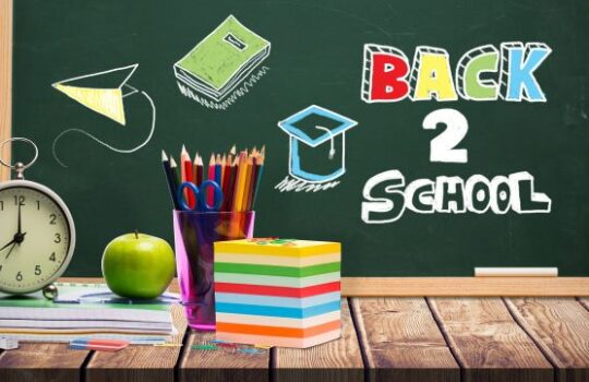 The Start of the New School Year is Near!